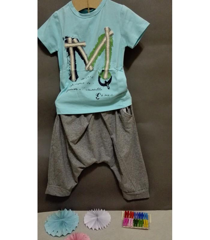 ❣❣❣ 男童水藍色棉T ❣❣❣